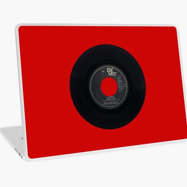 I Need Love vinyl single Laptop Skin