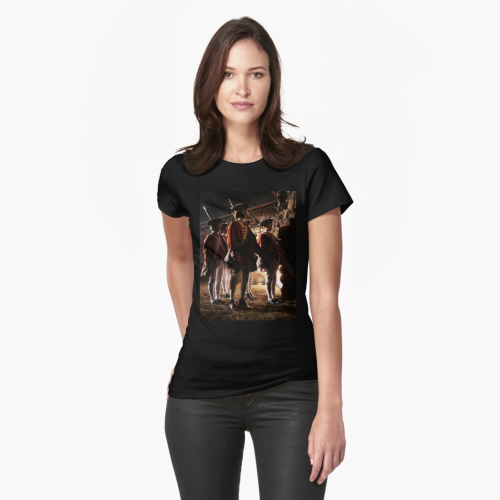 The Redcoats Came Marching, Marching... Womens T-Shirt Front