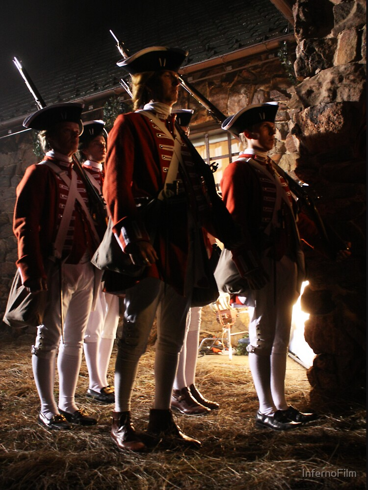 The Redcoats Came Marching, Marching... by InfernoFilm