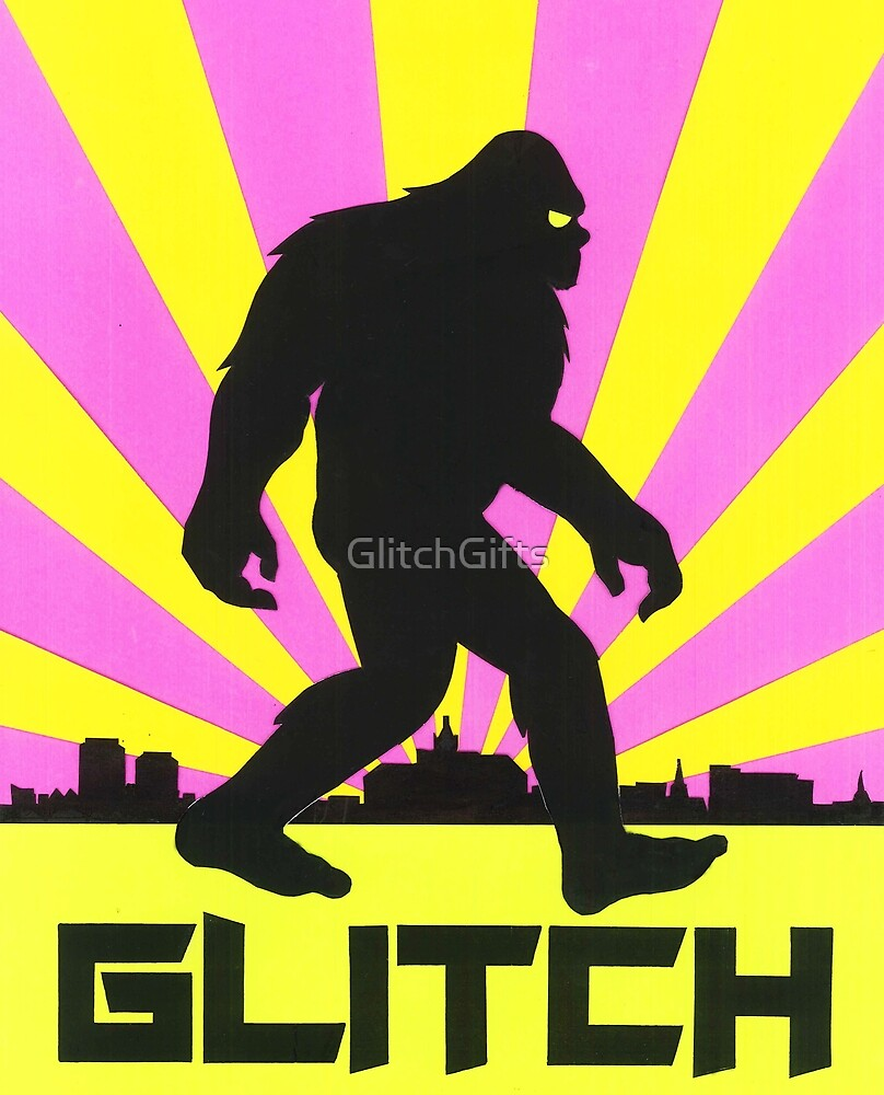 Glitch Bigfoot by GlitchGifts