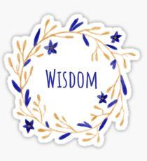 House Wisdom Sticker