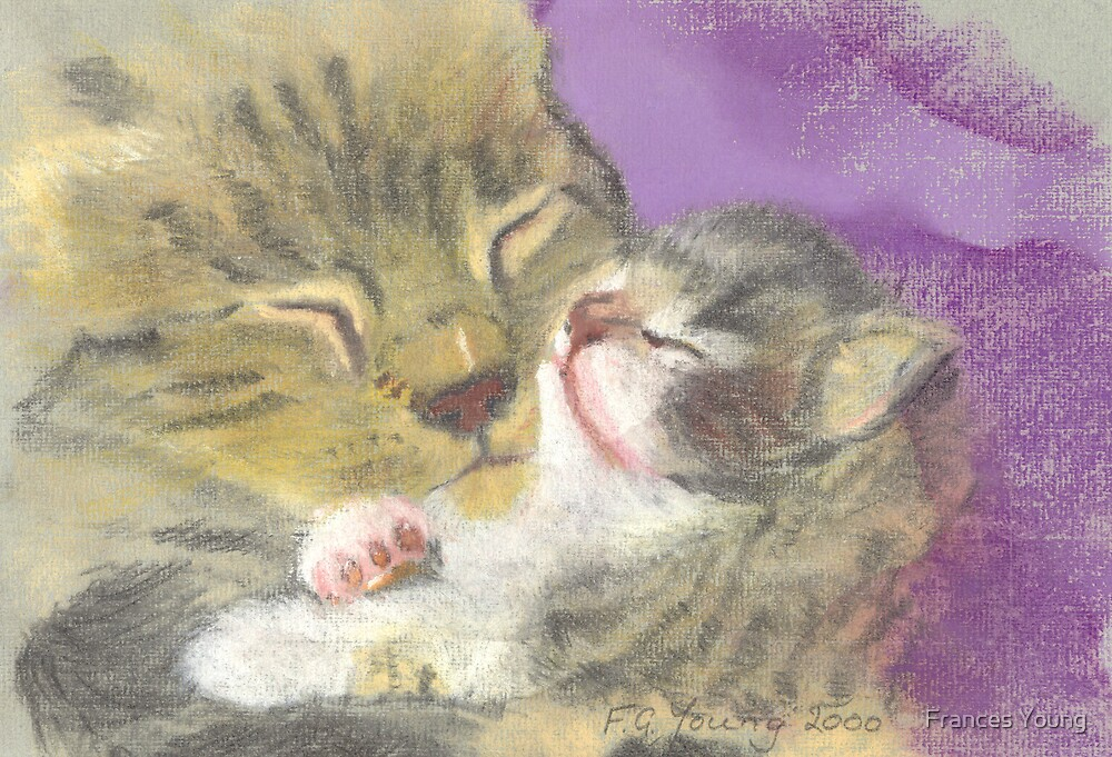 Mother & Kitten by Frances Young