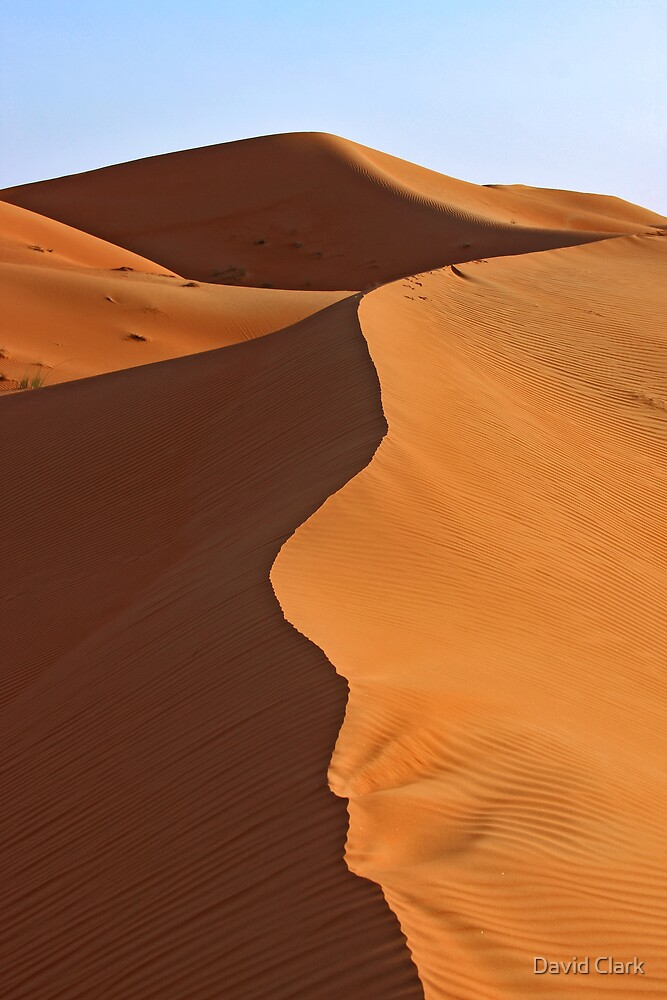 Line in the Sand by David Clark
