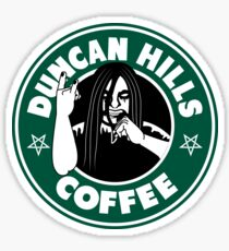 Duncan Hills Coffee Sticker