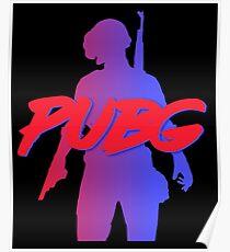 Retro PUBG Poster