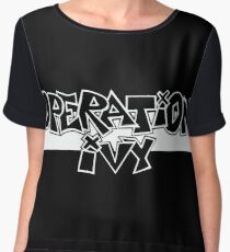 The Operation of Ivy Women's Chiffon Top