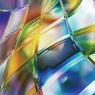Vibrant Abstract Warp Squares by CreativeBytes