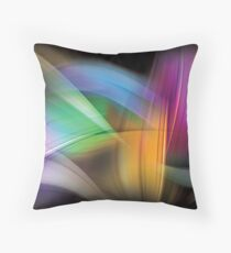 Magnetic Light Flux Abstract Floor Pillow