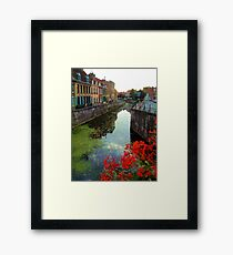 Bergues, near Dunkerque, France. Framed Print