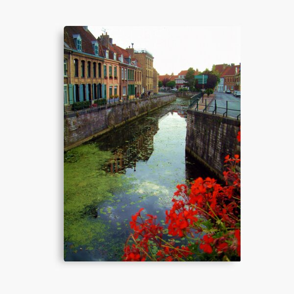 Bergues, near Dunkerque, France. Canvas Print