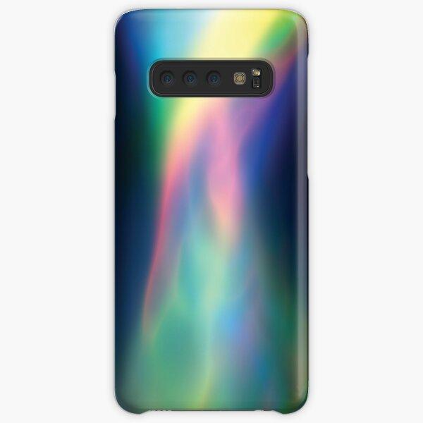 Rainbow Vortex of Light Abstract Art Samsung Galaxy Snap Case