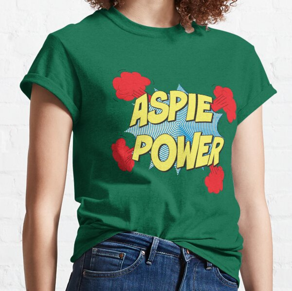 Aspie Power Kapow! Classic T-Shirt
