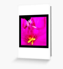 Noxious Beauty Greeting Card