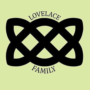 Shadowhunters: Lovelace Family (Black) by inkwood-store