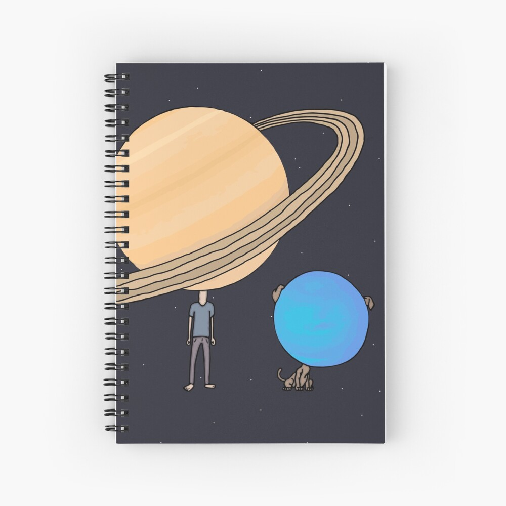Planet's Best Friend Spiral Notebook