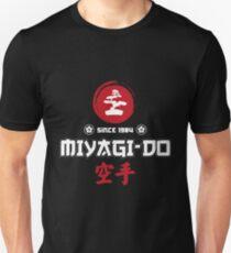 karate kid miyagi Slim Fit T-Shirt