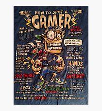 Funny Gaming T-shirt Photographic Print