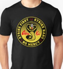 cobra kai no mercy Unisex T-Shirt
