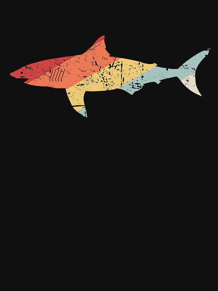 Vintage 70s Great White Shark by ethandirks
