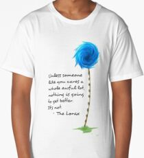 The Lorax Quotes Long T-Shirt