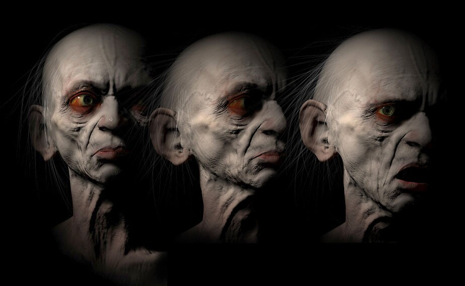 Gollum  by Paul Mellender