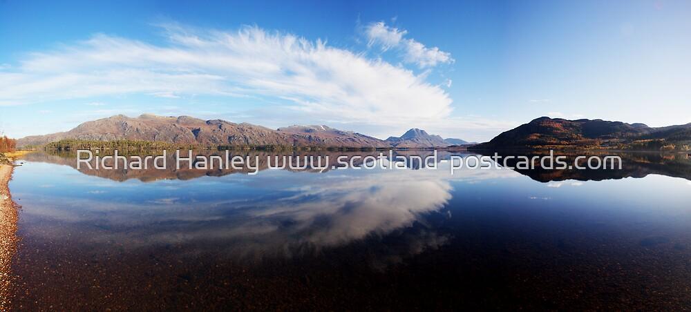 Loch Maree Panorama by Richard Hanley www.scotland-postcards.com