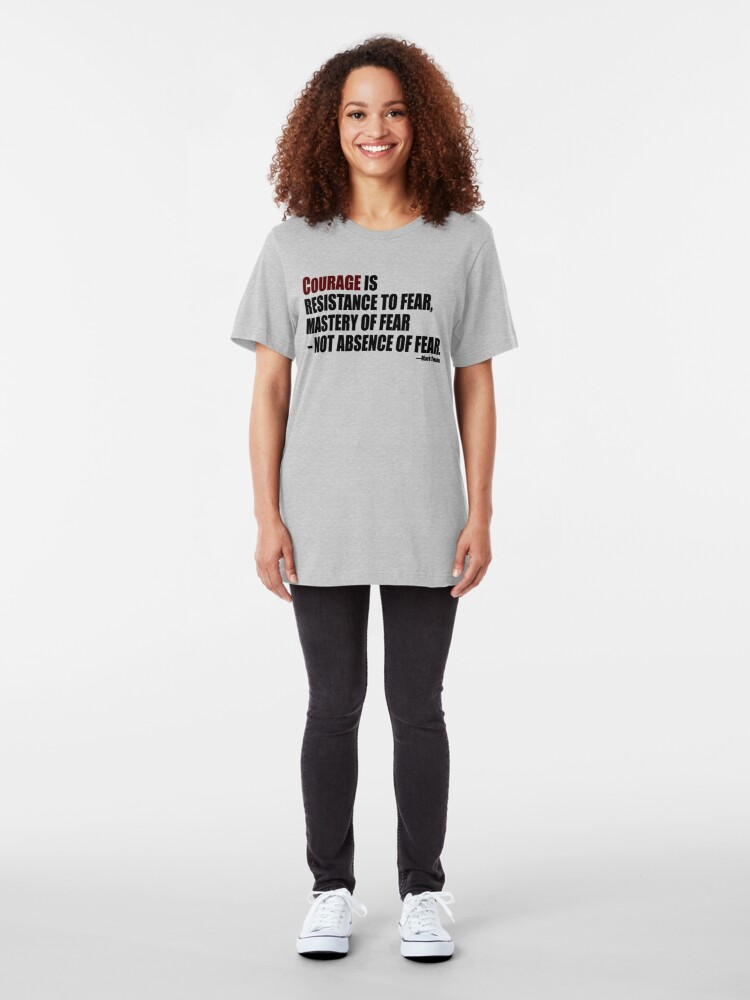 Alternate view of Courage Slim Fit T-Shirt