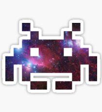 Space Invading Sticker