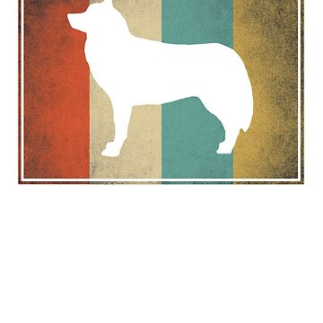 Vintage Siberian Husky Gift for Men Women & Kids - Retro Design by ClineProducts