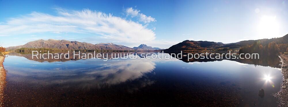 Loch Maree Shoreline Panorama by Richard Hanley www.scotland-postcards.com