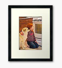 COOKIES! Framed Print