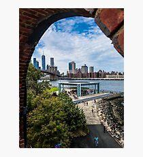 Brooklyn Bridge Park - Dumbo Brooklyn Photographic Print