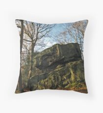 Adel Crag Throw Pillow