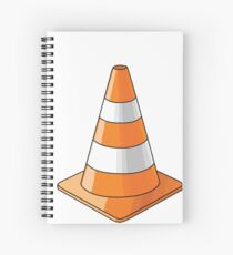 traffic cone Spiral Notebook