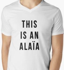 THIS IS AN ALAIA Men's V-Neck T-Shirt