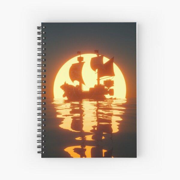 Thousand Sunny Spiral Notebook