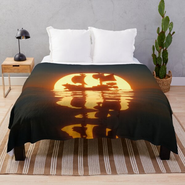 Thousand Sunny Throw Blanket