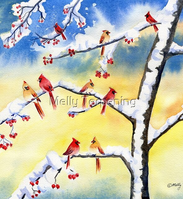 Winter Song 2 by Melly Terpening