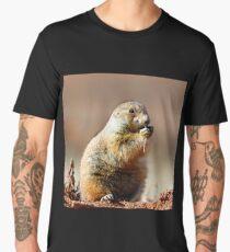 Prairie Dog Portrait Men's Premium T-Shirt