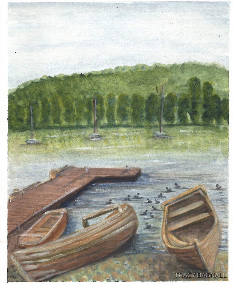 boats by TRACY BAGNALL