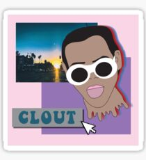 Clout Aesthetic  Sticker
