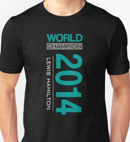 Lewis Hamilton - 2014 WDC T-Shirt