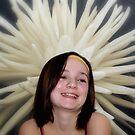 Flower girl by Kevin Meldrum