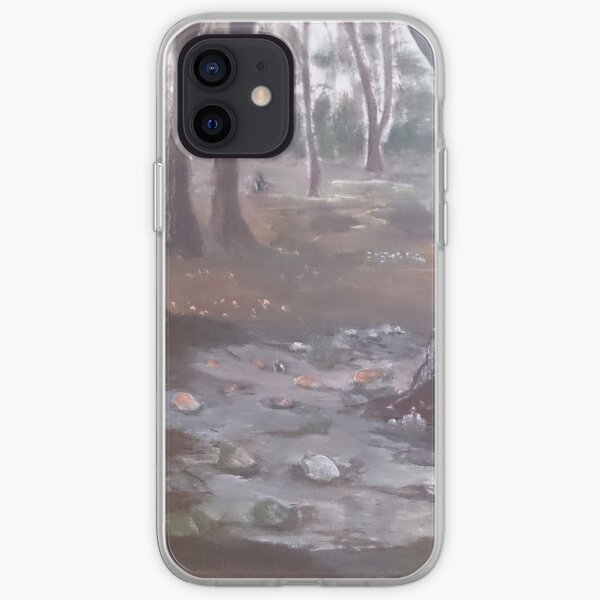 Mystical forest iPhone Soft Case