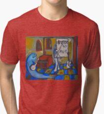 GUITAR TEACHER Tri-blend T-Shirt