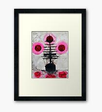 Blood Moon Voyage  Framed Print