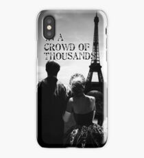 In a crowd of thousands iPhone Case/Skin