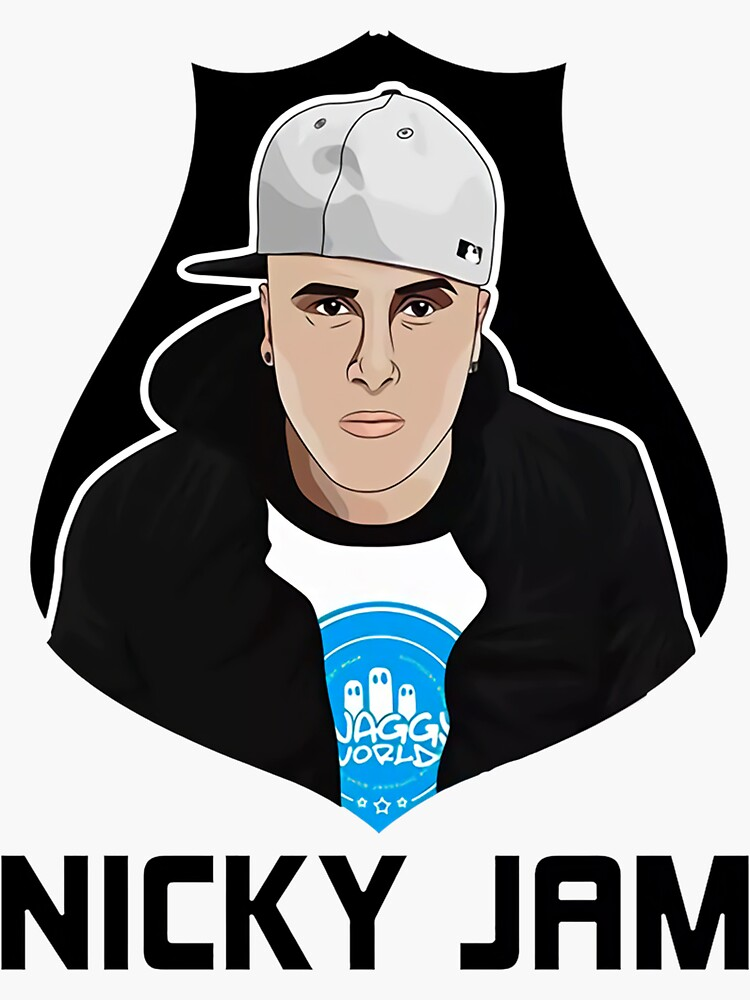 Nicky Jam Art Exclusive T-shirt by antonioon