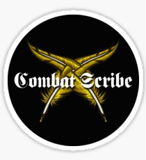 Combat scribe Sticker