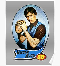 Uncle Rico Football card Poster